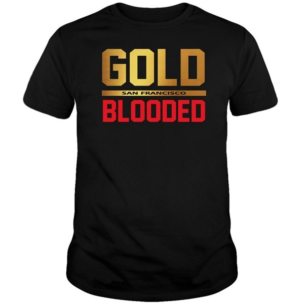 San Francisco Gold Blooded Shirt