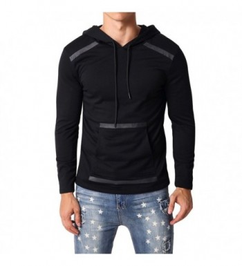 MODCHOK Sleeve Pullover Hoodies Sweatshirts