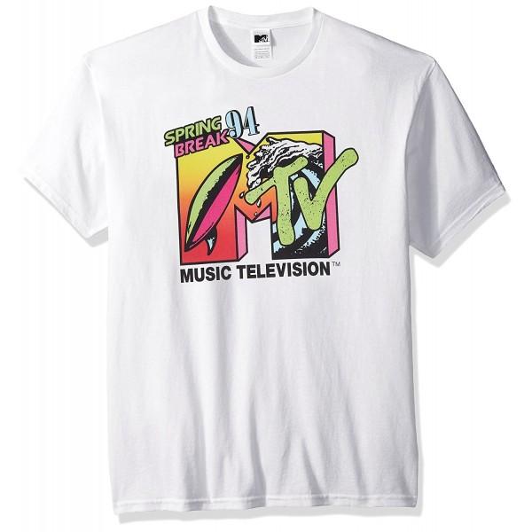 MTV Mens Springbreak T Shirt White