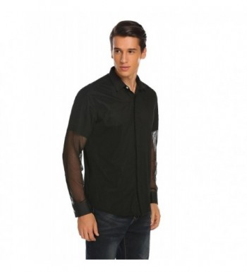 Cheap Designer Men's Casual Button-Down Shirts for Sale