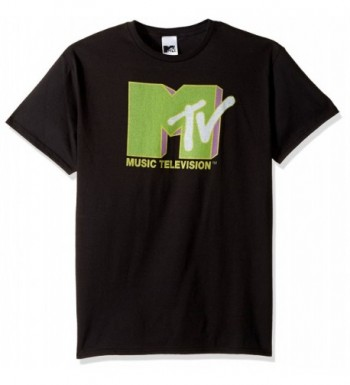 MTV Small Chest T Shirt Black