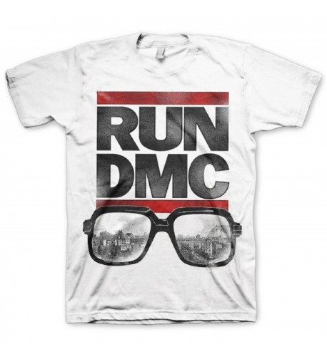 Run DMC Glasses Logo T Shirt