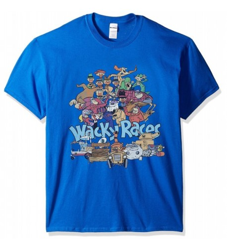 Hanna Barbera Wacky Races T Shirt Royal