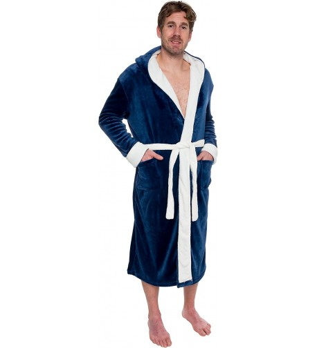 Ross Michaels Hooded Kimono Bathrobe
