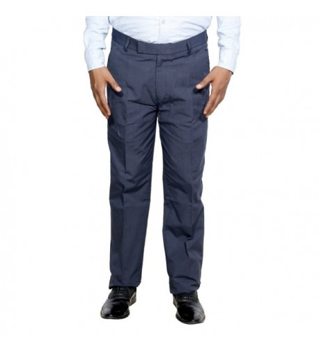 Indistar Rayon Formal Trouser _Gray_Size