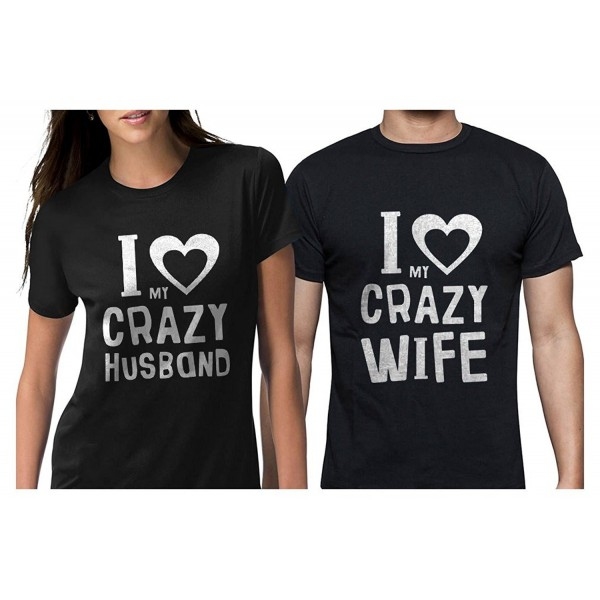 614b6ea17 Funny Husband & Wife Couples Gift Anniversary/Newlywed Matching Set ...