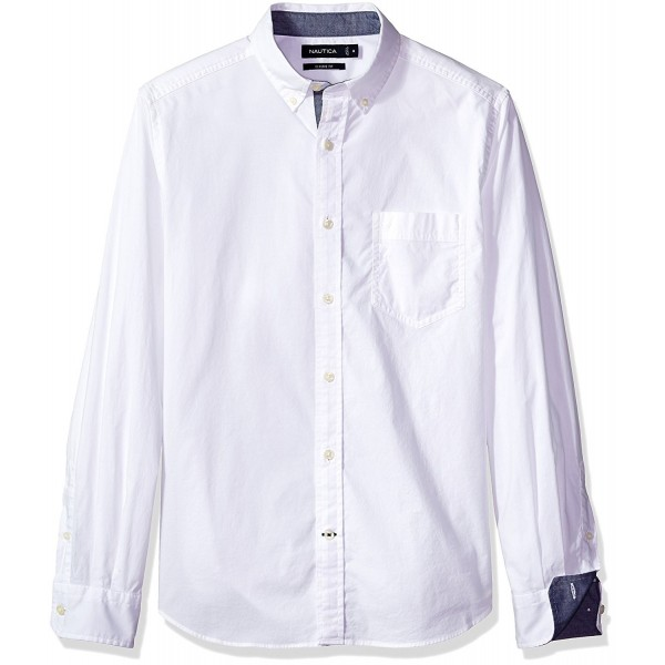 Nautica Classic Stretch Sleeve Button