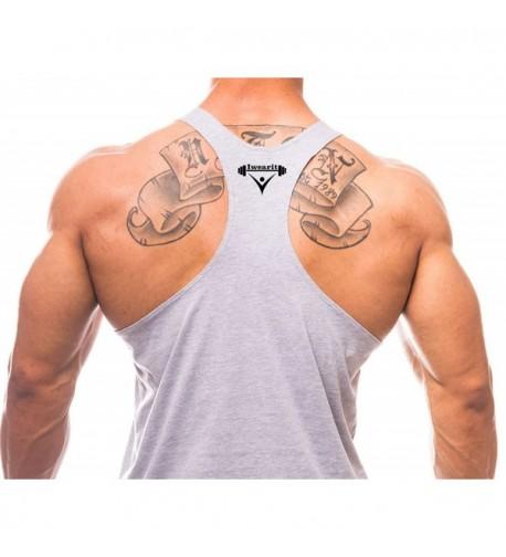 Iwearit Athletic Cut Muscle Tanktop 3000 Large Grey