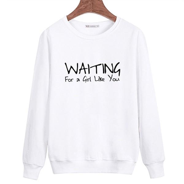 QZUnique Spring Graphic Crewneck Sweatshirt