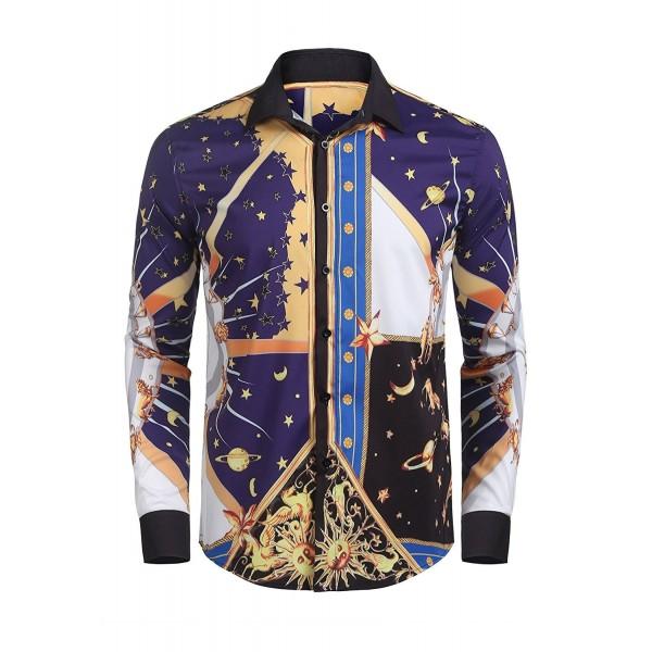 Detailorpin Sleeve Luxury Design Printed