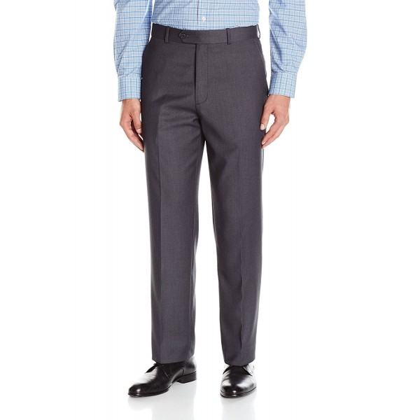 Adolfo Mens Front Micro Charcoal