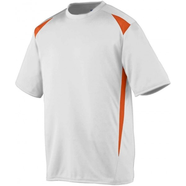 Augusta Sportswear M47465 WhiteOrange S 1050 Premier