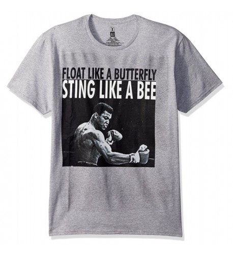 Muhammad Ali Graphic T Shirt Heather