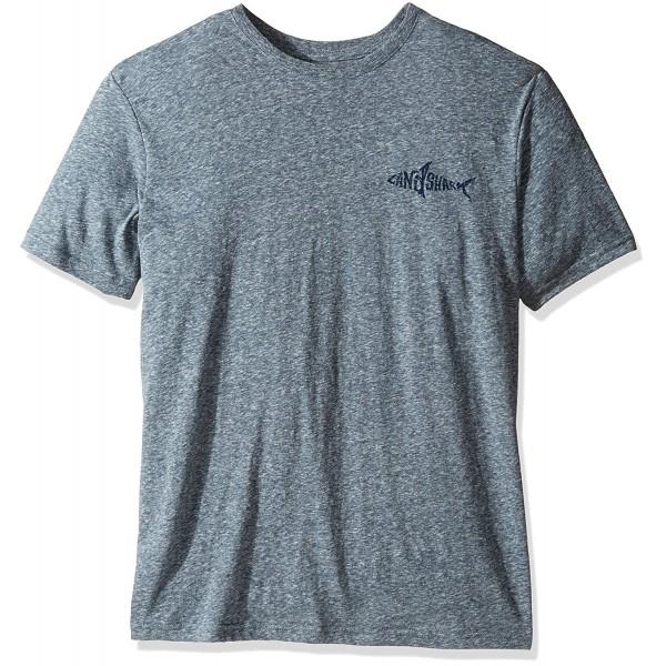 Margaritaville Mens Landshark T Shirt Slate