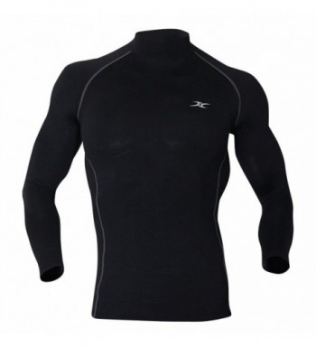 Turtleneck Thermal Underwear Compression Napping