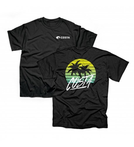 Costa Siesta T Shirt Black XL