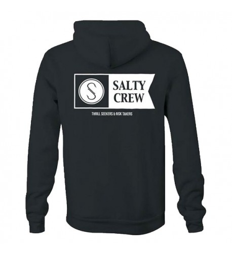 Salty Crew Hoodie Charcoal Medium