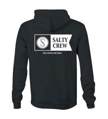 Salty Crew Hoodie Charcoal Medium
