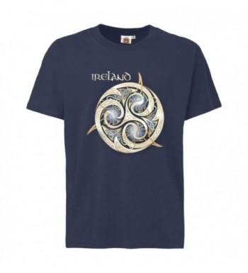 T shirt Celtic Spiral Design Ireland