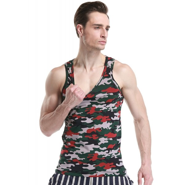 SEOBEAN Mens Sleeveless Vest T Shirts