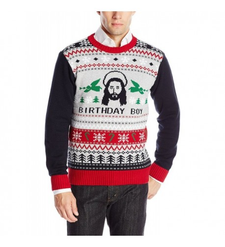 Ugly Christmas Sweater Silver Heather