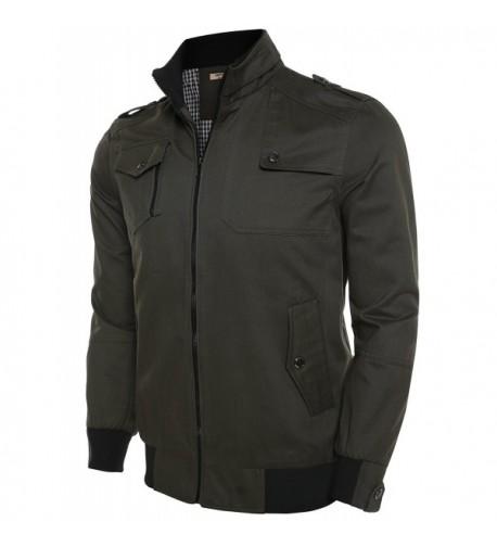 Misakia Cotton Collar Windbreaker Jacket