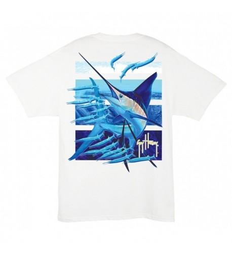 Guy Harvey Ballyhoo T Shirt White