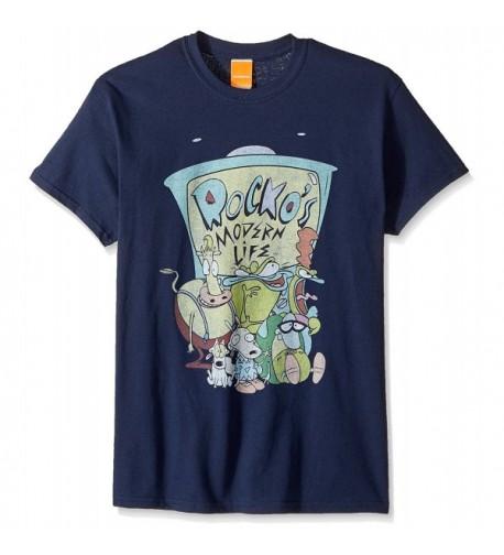 Nickelodeon Mens Rocko Group T Shirt