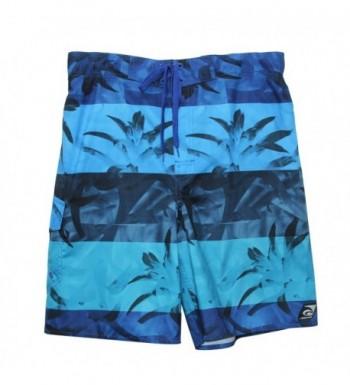 Laguna Floral Pattern Boardshorts Drawcord