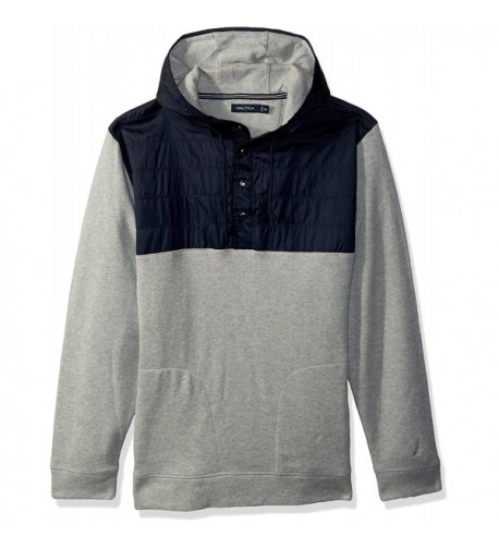 Nautica Sleeve French Pullover Heather