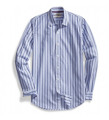 Goodthreads Standard Fit Long Sleeve Two Color Stripe