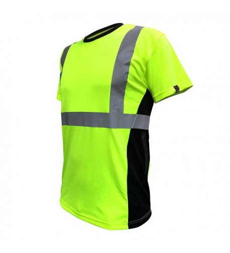 SafetyShirtz SS360 Safety Yellow Vented