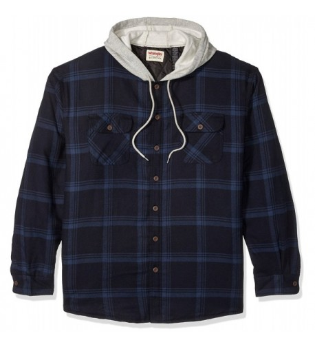 Wrangler Authentics Big Tall Quilted Flannel