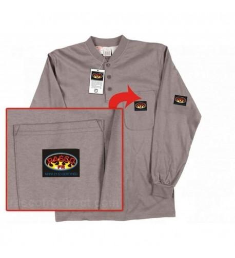 Rasco Fire Retardant Henley T shirt