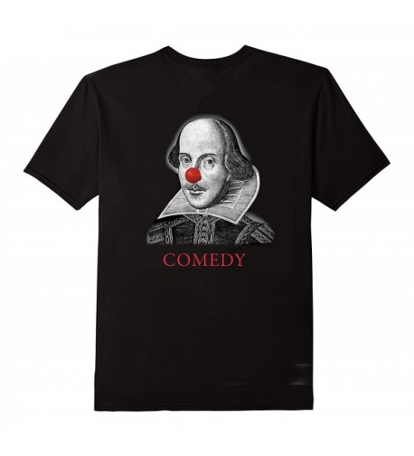 Shakespeare Comedy Tragedy T Shirt X Large