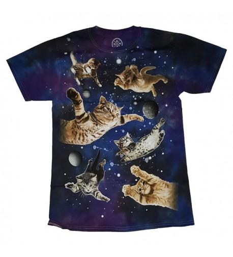 Ninja Kitty Flying Space T Shirt