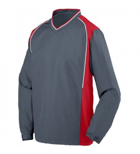 Augusta Sportswear Pullover Graphite White
