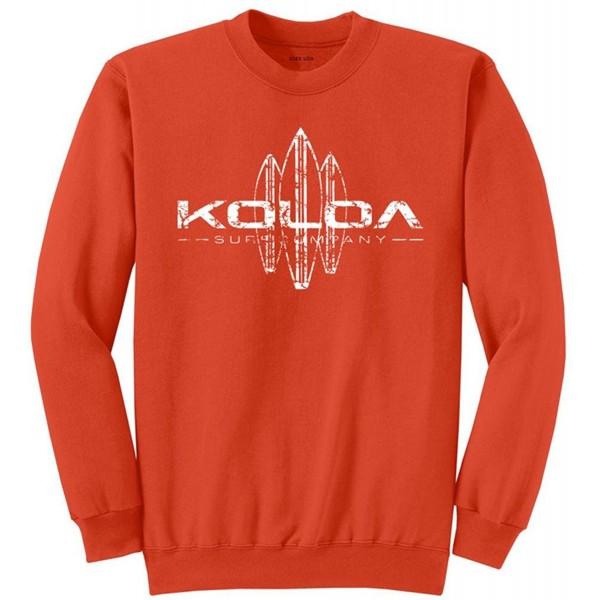537bf3e6c21f3 Vintage Surfboard Sweatshirts in 28 Colors in Sizes S-4XL - Orange ...