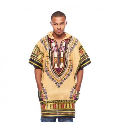 African Dashiki Loose Traditional Hoodie