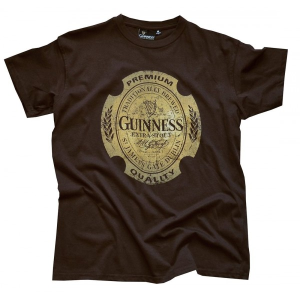 Guinness Chocolate Brown T Shrit XXLarge