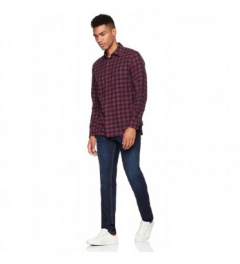 Brand Original Men's Casual Button-Down Shirts