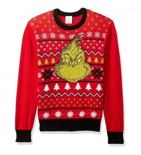 Dr Seuss Grinch Christmas Sweater