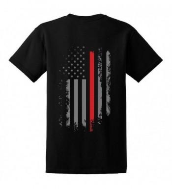GunShowTees Firefighter American Shirt Medium