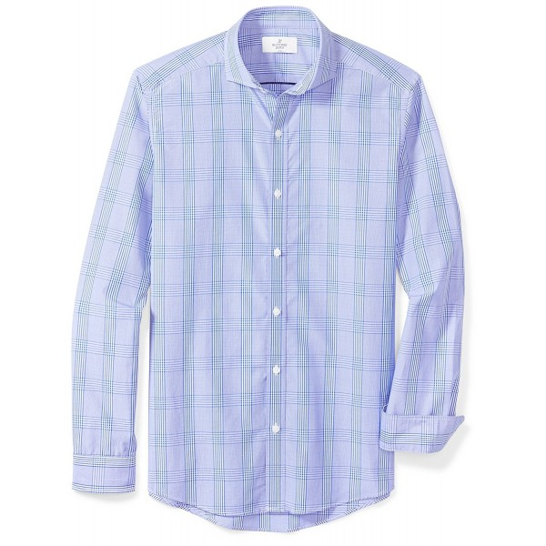 Buttoned Down Cutaway Collar Sport Shirt