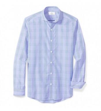 Buttoned Down Cutaway Collar Sport Shirt