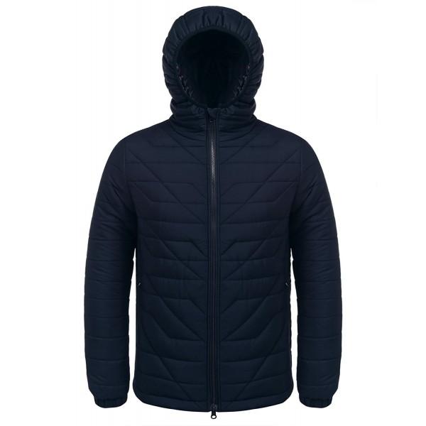 COOFANDY Packable Hooded Jacket Lightweight