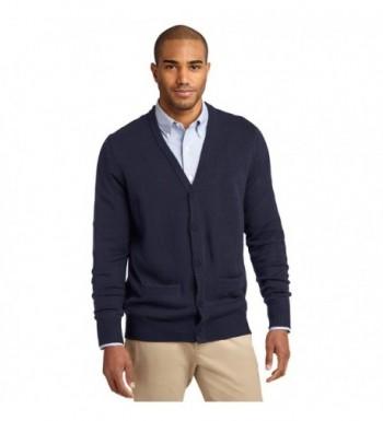 Port Authority Cardigan Sweater Pockets