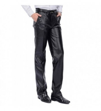 Idopy Classic Business Regular Fit Leather