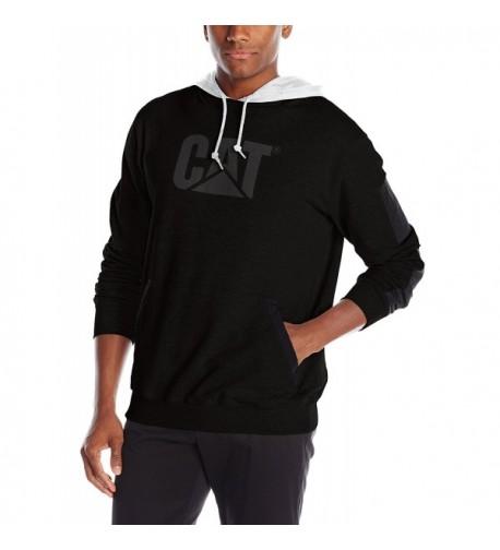Caterpillar Lightweight Hooded Sweatshirt Black
