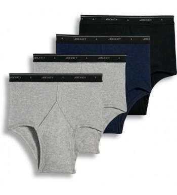 Jockey Cotton Full Rise 4 Pack Heather